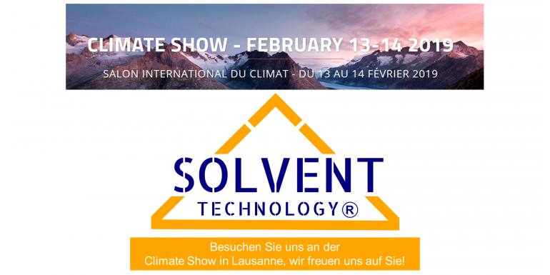 SOLVENT TECHNOLOGY Climate Show 2019