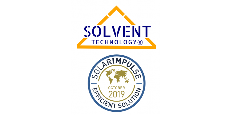 SOLVENT TECHNOLOGY erhält Solarimpulse Label!