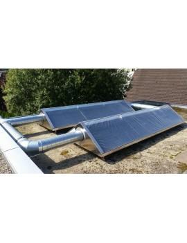 Solar-Luftkollektor 4m x 2m
